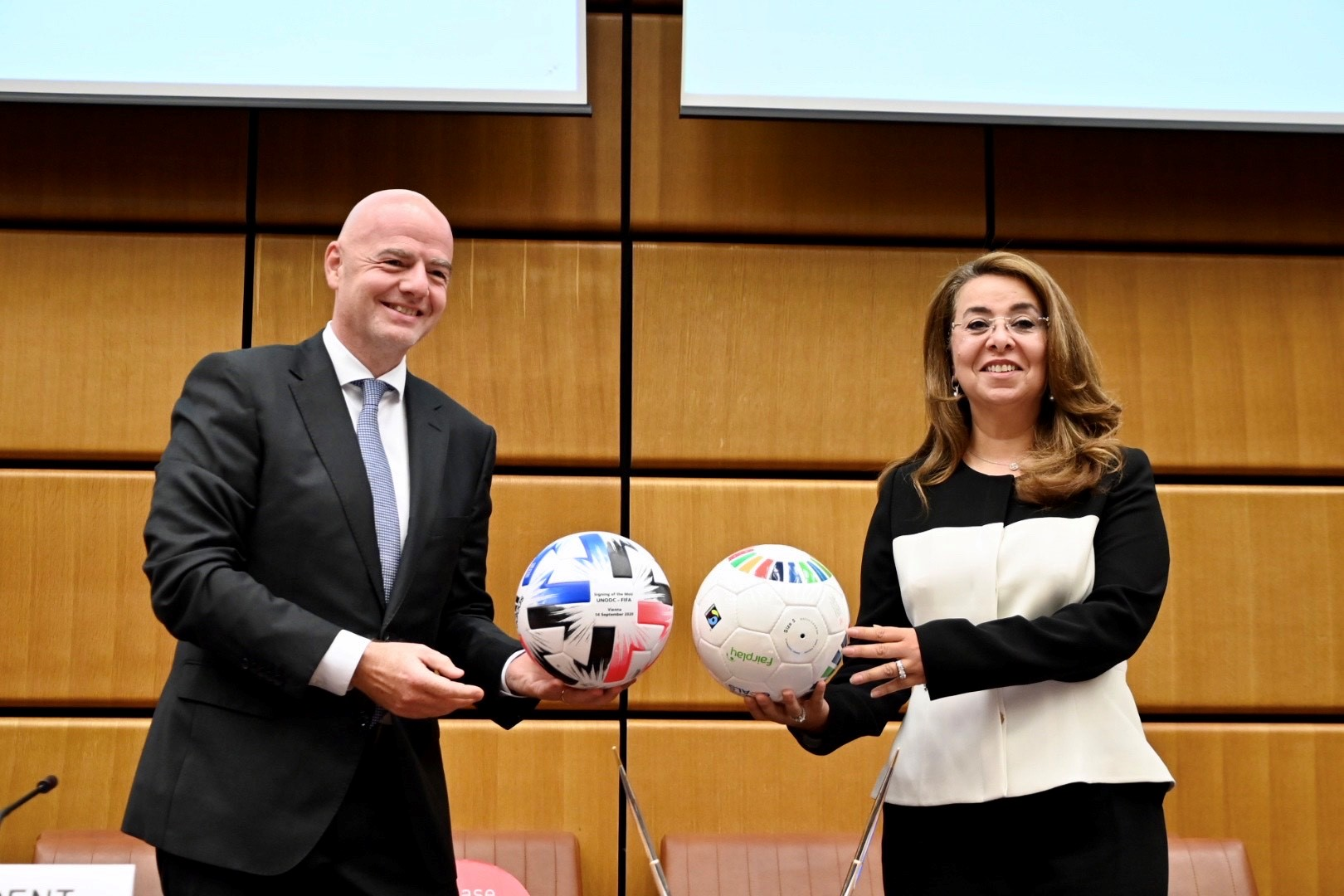 FIFA und UNODC feiern ersten Jahrestag ihrer Partnerschaft