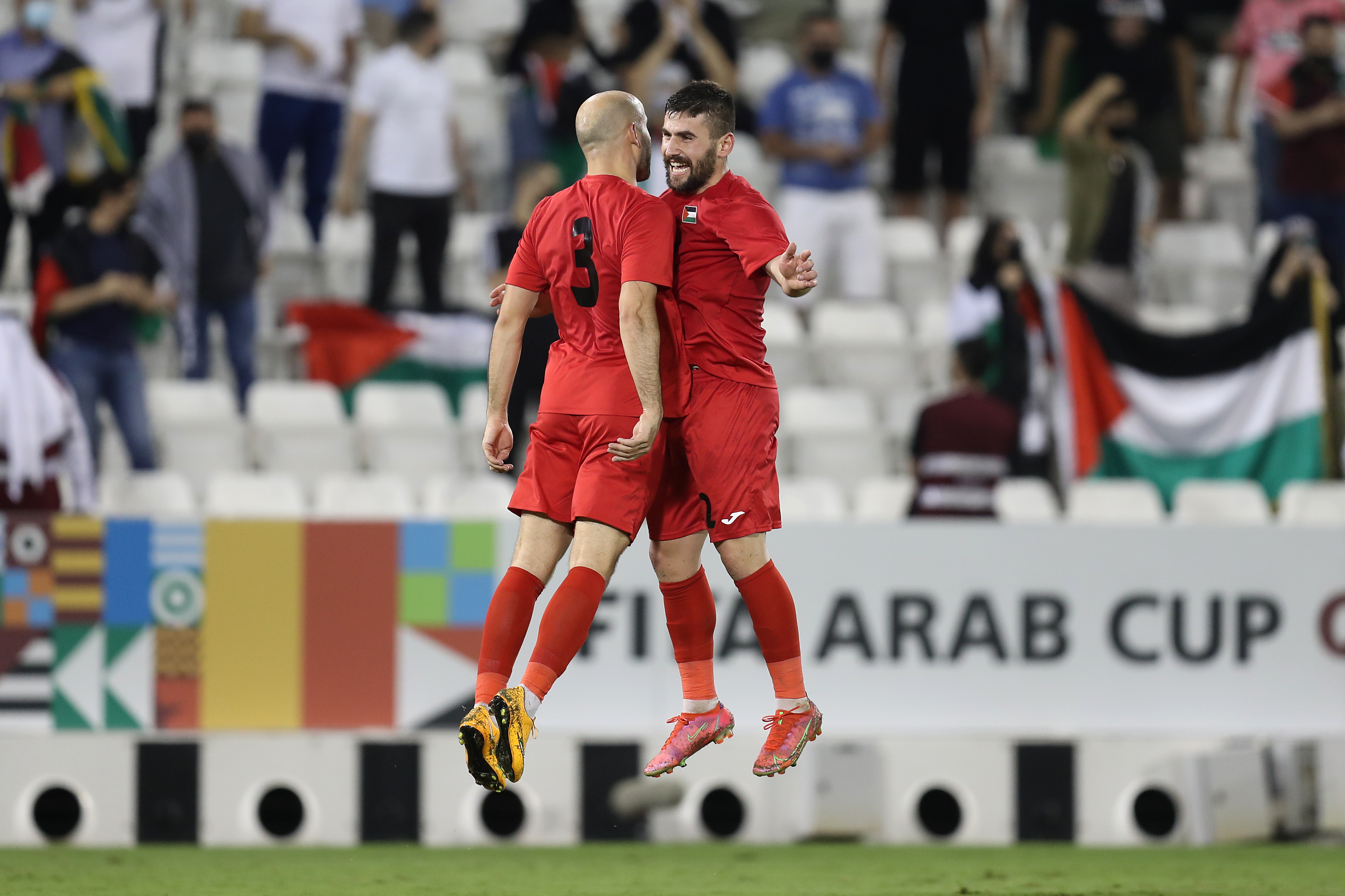 5-star Palestine come from behind to beat Comoros