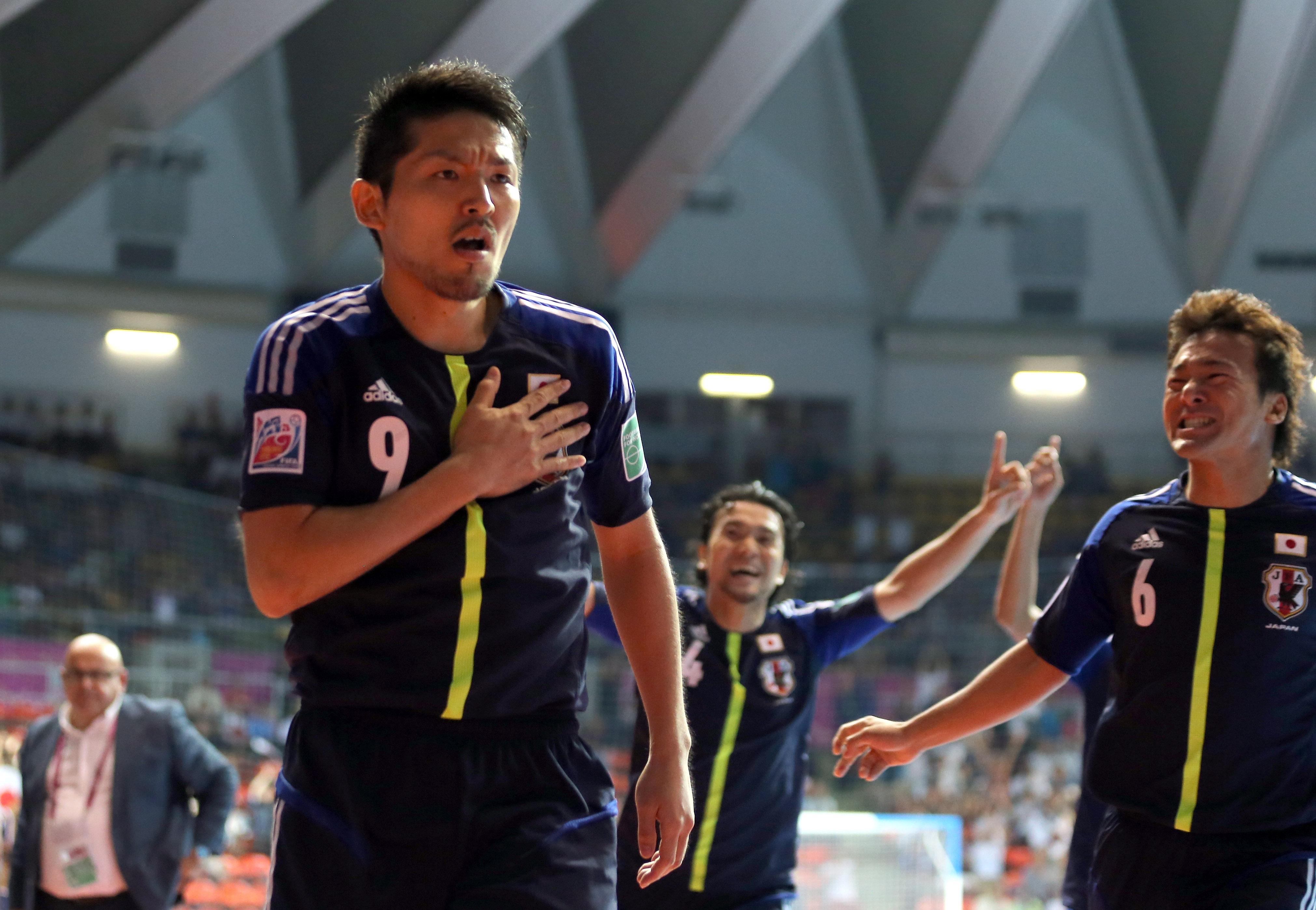 Veteran Hoshi out to 'cherish the Futsal World Cup second'