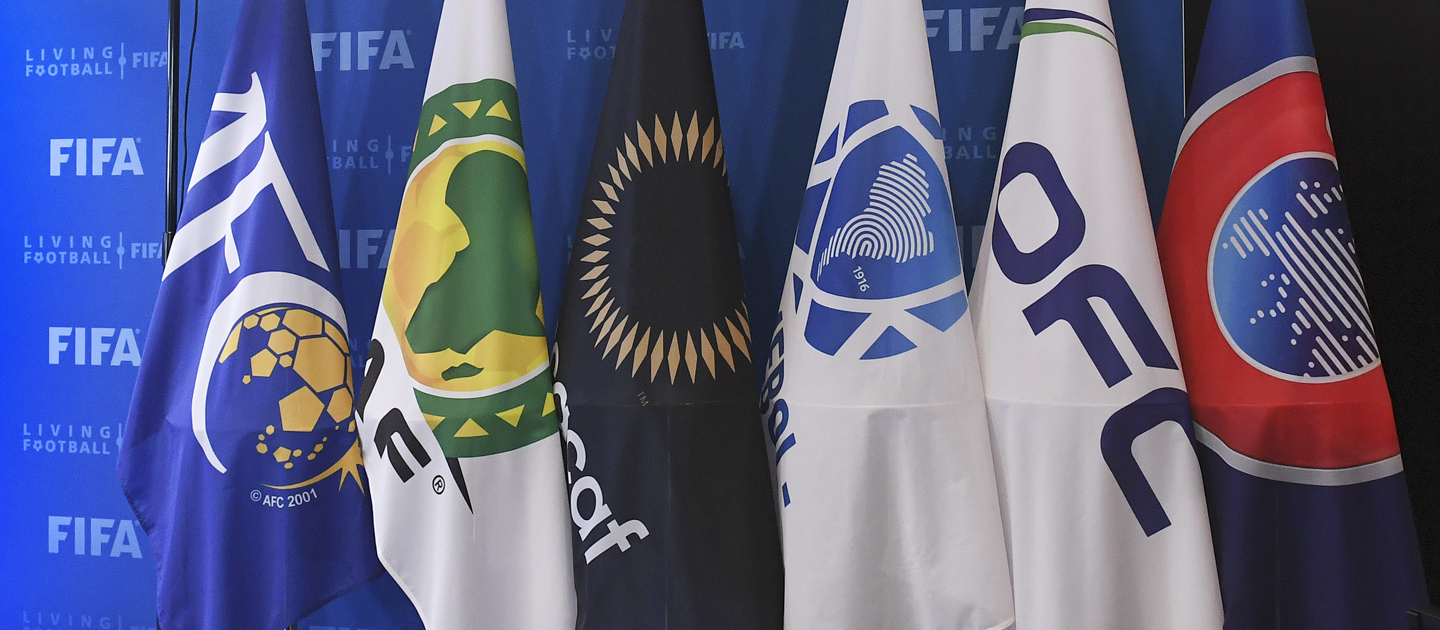 Assertion by FIFA and the six confederations