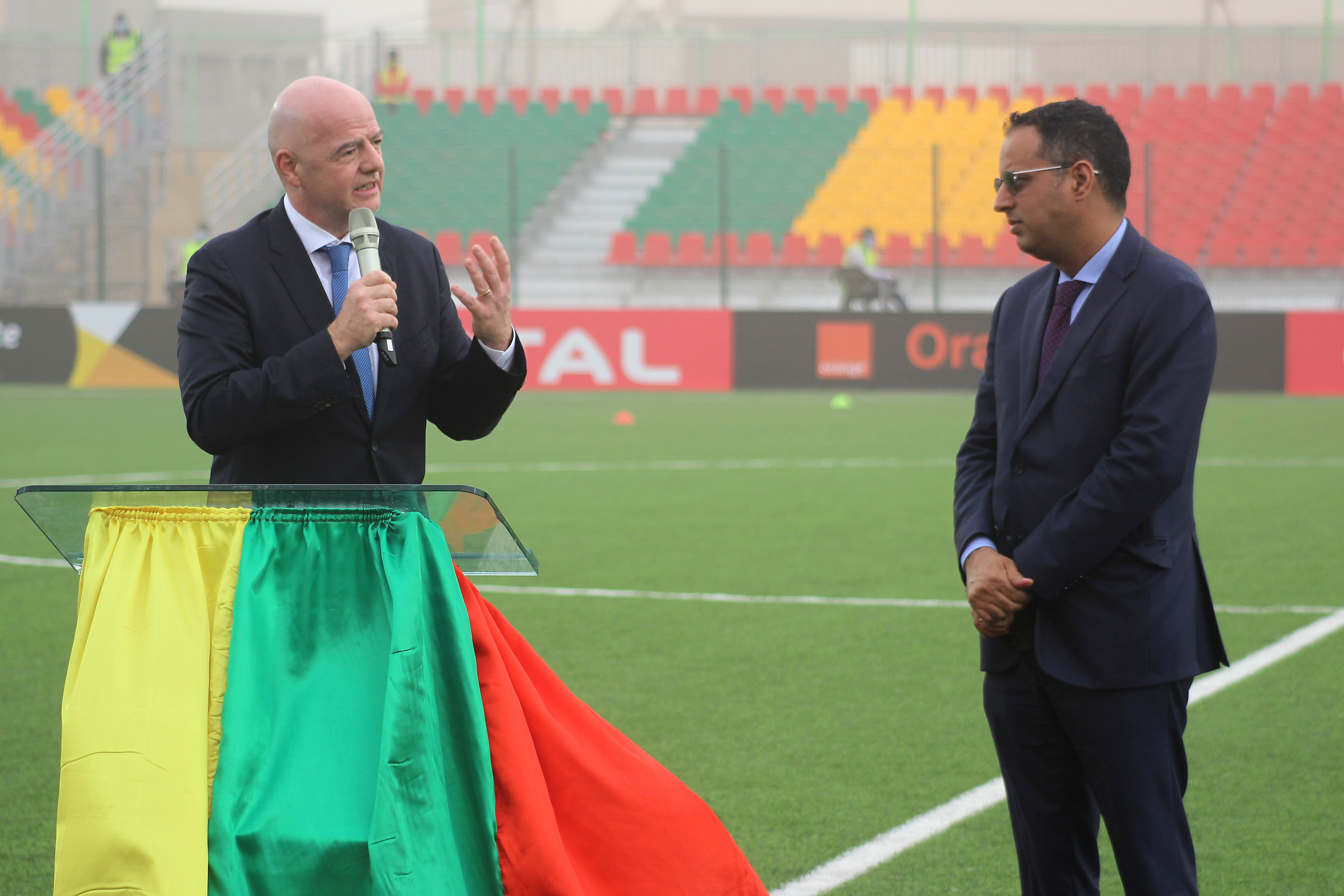 FIFA President kicks off African go to with stadium inauguration in Mauritania